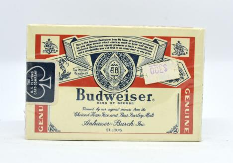 Budweiser Kartenspiel Neu OVP Karten amerikanisch The U.S. Playing card company King of Beers PLAYING CARDS