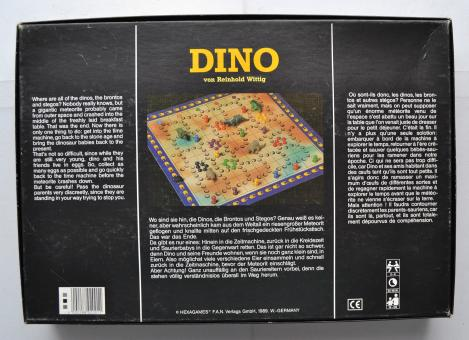 Dino 1989 Hexagames