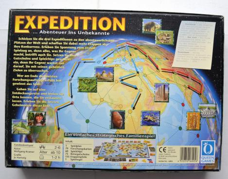 Expedition 1996 Hexagames Brettspiel
