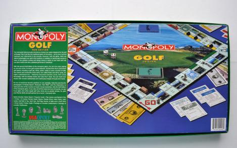 Monopoly Golf Edition englisch 1998 USAopoly