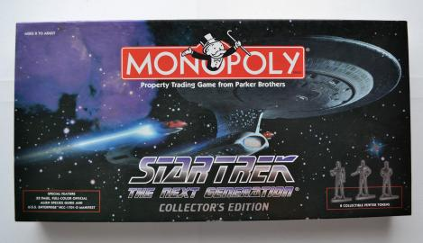 Monopoly Star Trek The next Generation engl. 1998 USAopoly