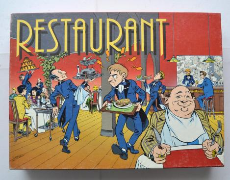 Restaurant Flying Turtle Games 1987