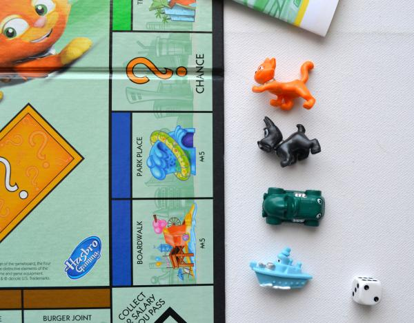 Monopoly Junior englische US Version 2013 Hasbro